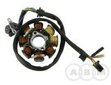 Статор генератора 8-ми катушечного 4Т 152QMI, 157QMJ 125cc / 150сс