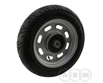 Диск колеса 10 4Т SKY, STORM передний, стальной в сборе (110мм)