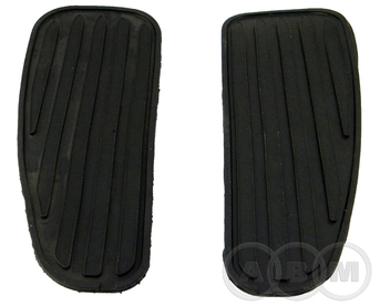 Накладка резиновая подножки водителя RoadStar 250 (2015 -)