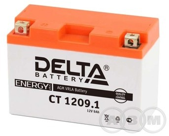 АКБ Delta 12V 9Ah необслуживаемый