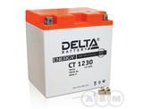 АКБ Delta 12V 30Ah необслуживаемый (СТ 1230, 168х126х175)