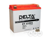 АКБ Delta 12V 18Ah необслуживаемый (СТ 12201, 177x88x154)