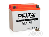 АКБ Delta 12V 12Ah необслуживаемый (СТ 1212, 150х86х131)