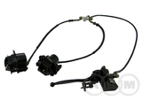 Тормоз дисковый передний в сборе ATV-150, Apache, Apache-track
