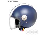 Мотошлем VCAN V 522 (кожа)