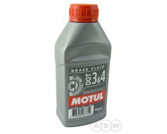 Motul Тормозная жидкость DOT3&4 Brake Fluid FL 0,5л
